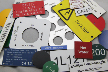 Engraved nameplates industrial control panel overlays labels industrial nameplate industrial nameplate publicscrutiny Choice Image
