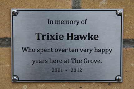 Custom Amp Personalised Memorial Plaques Uk Hockerill